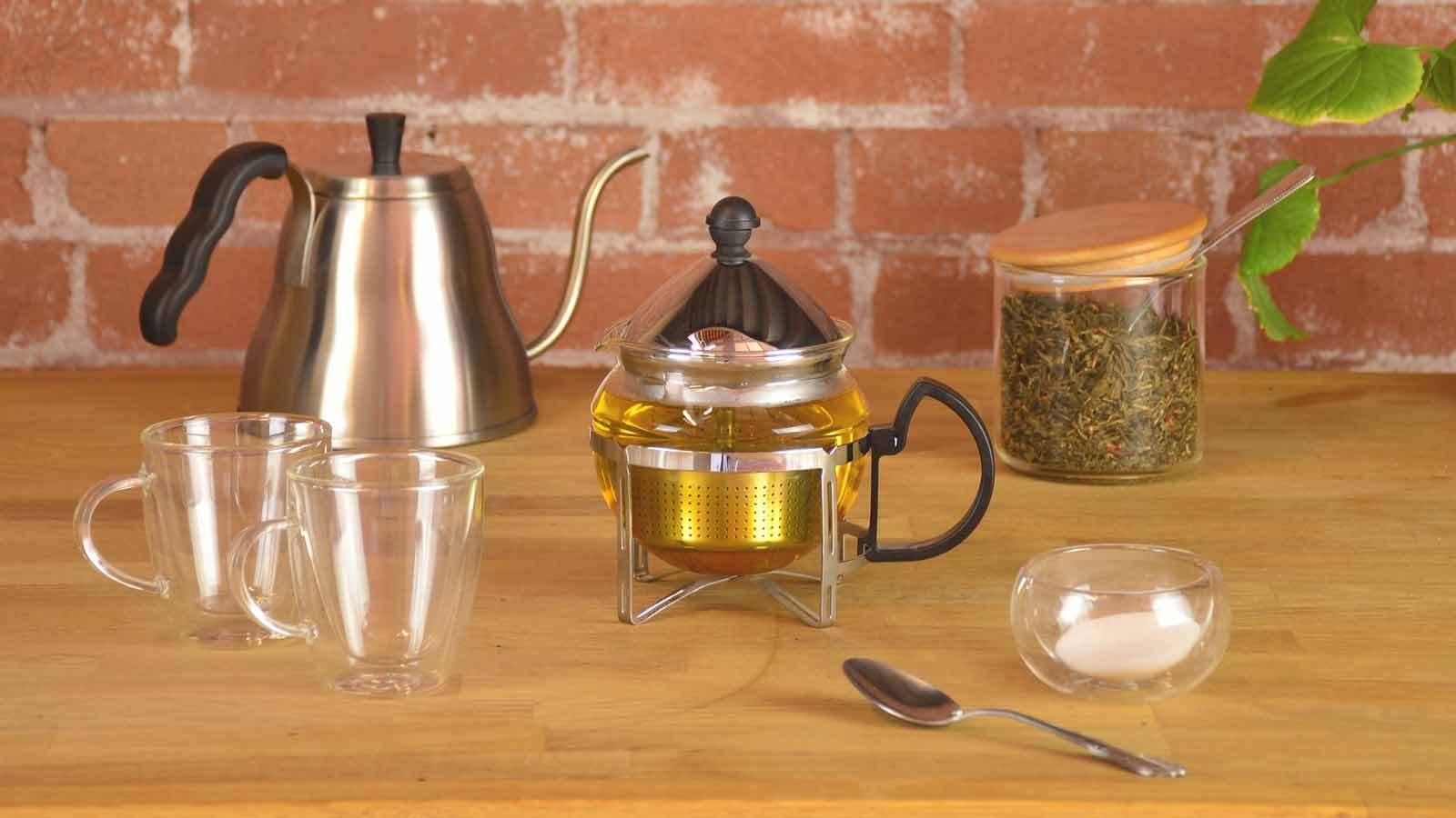 Grosche Glass Teapot With Infuser