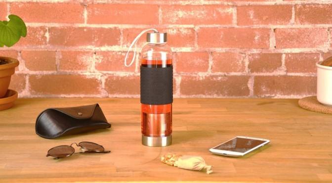 GROSCHE MARINO Reusable water bottle and tea infuser