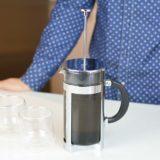Grosche-Boston-French-Press-making-cold-crew-coffee-with-Fresno-cups-#groscheinc-1000x1000