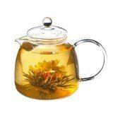 GROSCHE MUNICH Glass Teapot with Infuser | Blooming tea
