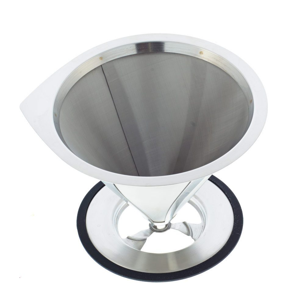GROSCHE ULTRAMESH Stainless Steel Coffee Filter | top view