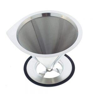 GROSCHE ULTRAMESH Stainless Steel Coffee Filter | top view