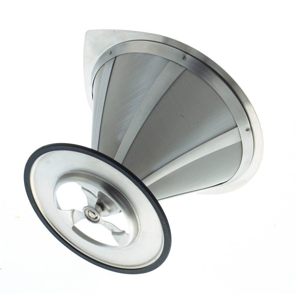 GROSCHE ULTRAMESH Stainless Steel Coffee Filter | bottom view filter