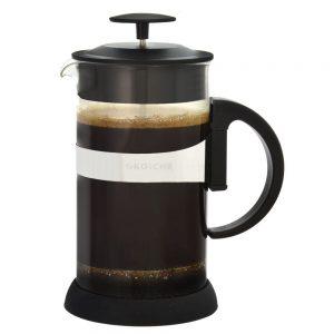 GROSCHE ZURICH Coffee French Press   Black side view