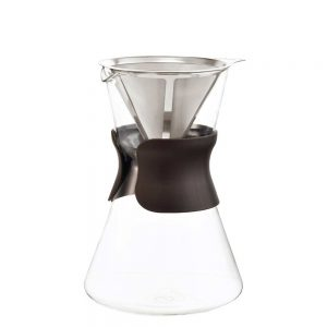 portland pour over coffee maker empty