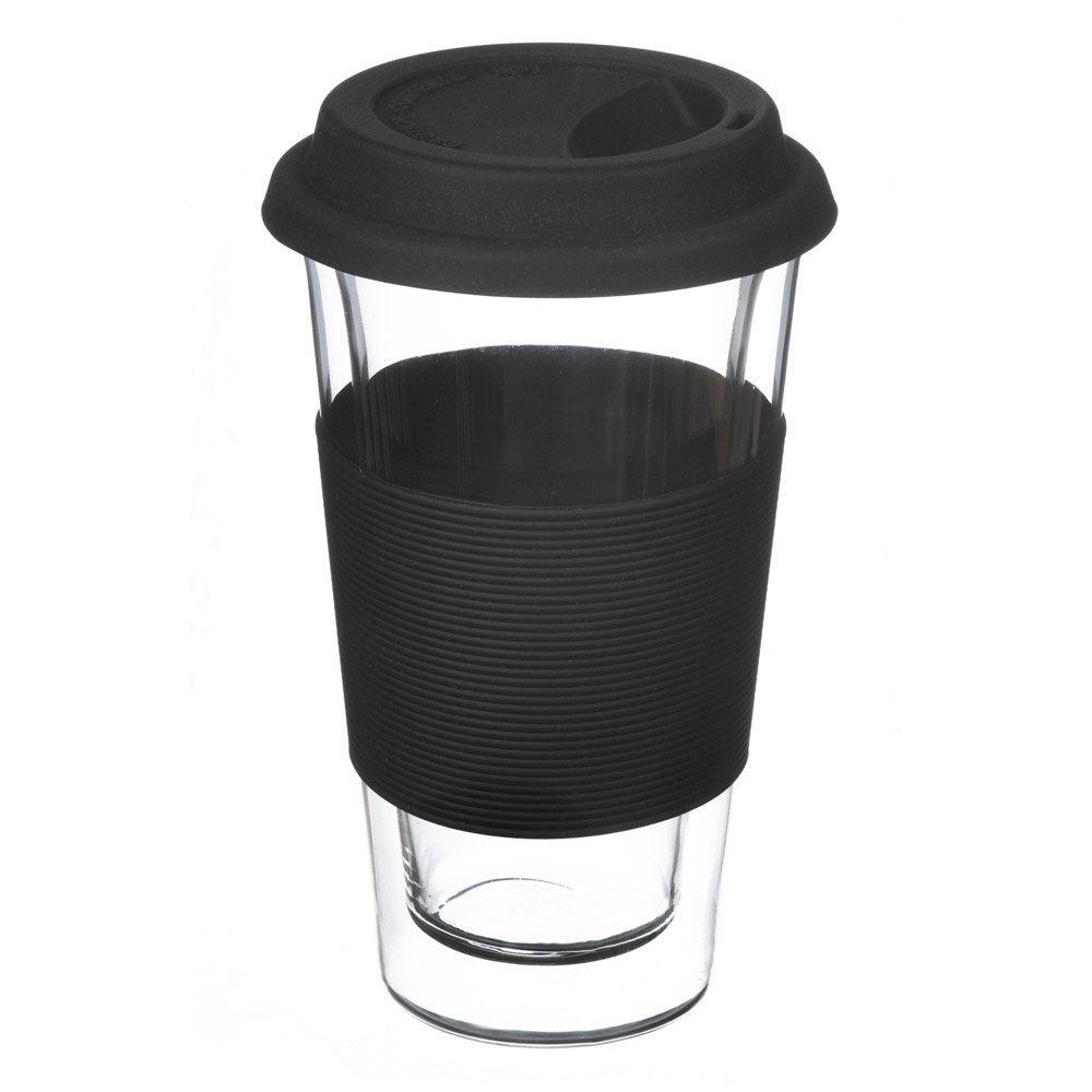 grosche GLASSEN XL glass tea travel mug