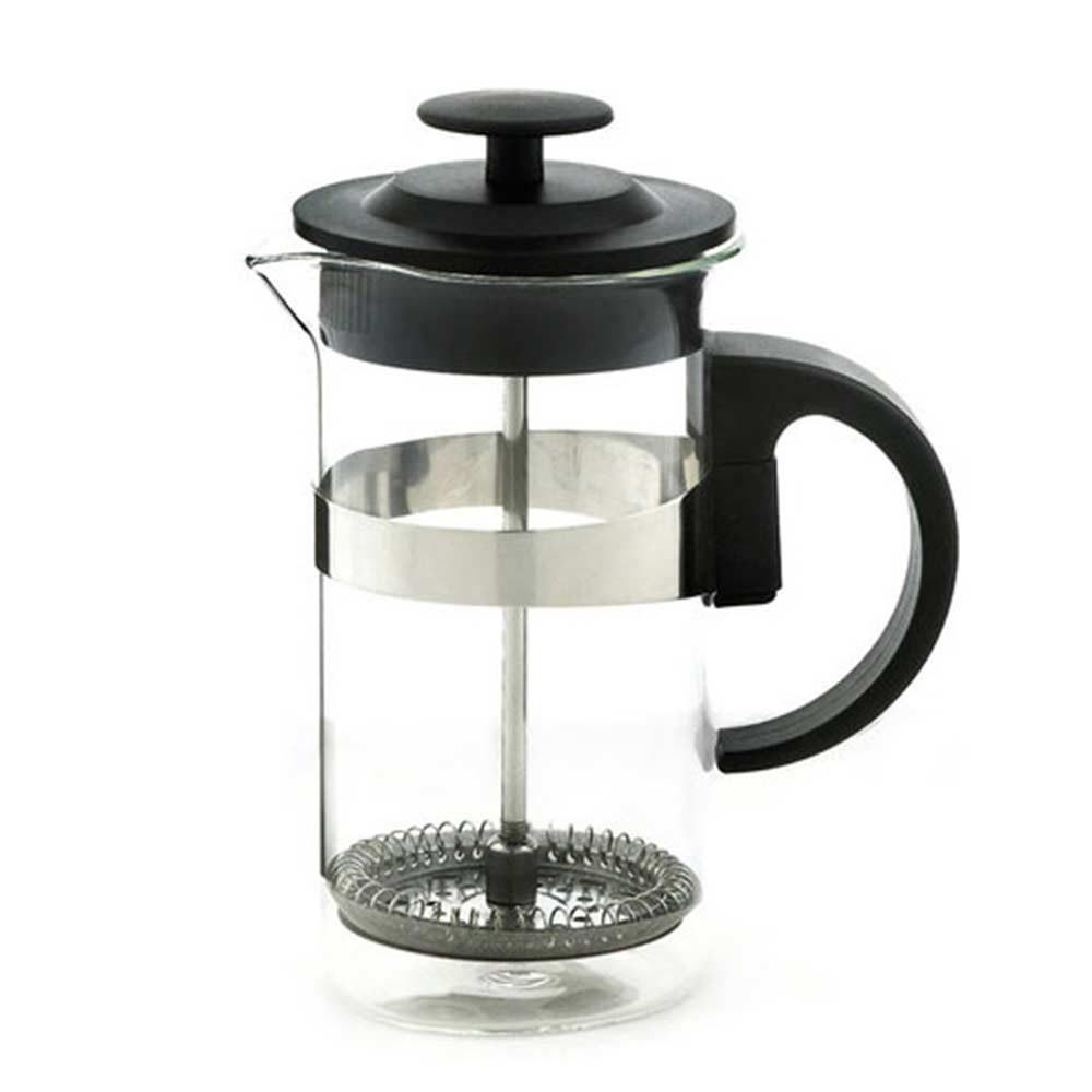 cafe au lait black french press