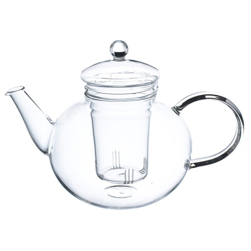 glass teapot monaco by grosche with loose leaf tea infuser tea maker tea infuser