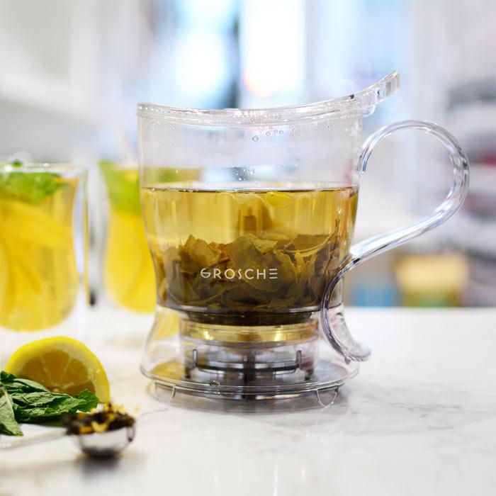 GROSCHE aberdeen tea steeper tritan plastic