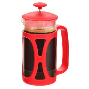 GROSCHE BASEL Small French Press | Red 350 ml