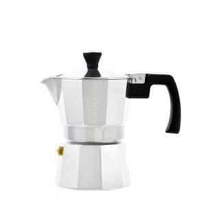 milano chrome stovetop espresso maker 3 cup