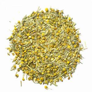 chamomile tea lemongrass tea for sleep rest stress relieving tea