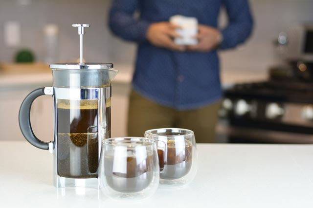 how to make cold brew in a french press grosche boston