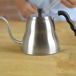 Grosche-Marakaesh-Pour-over-kettle-stainless-steel-on-wood-table