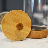 Groshce Melbourne Cork Bamboo french press coffee maker tea press
