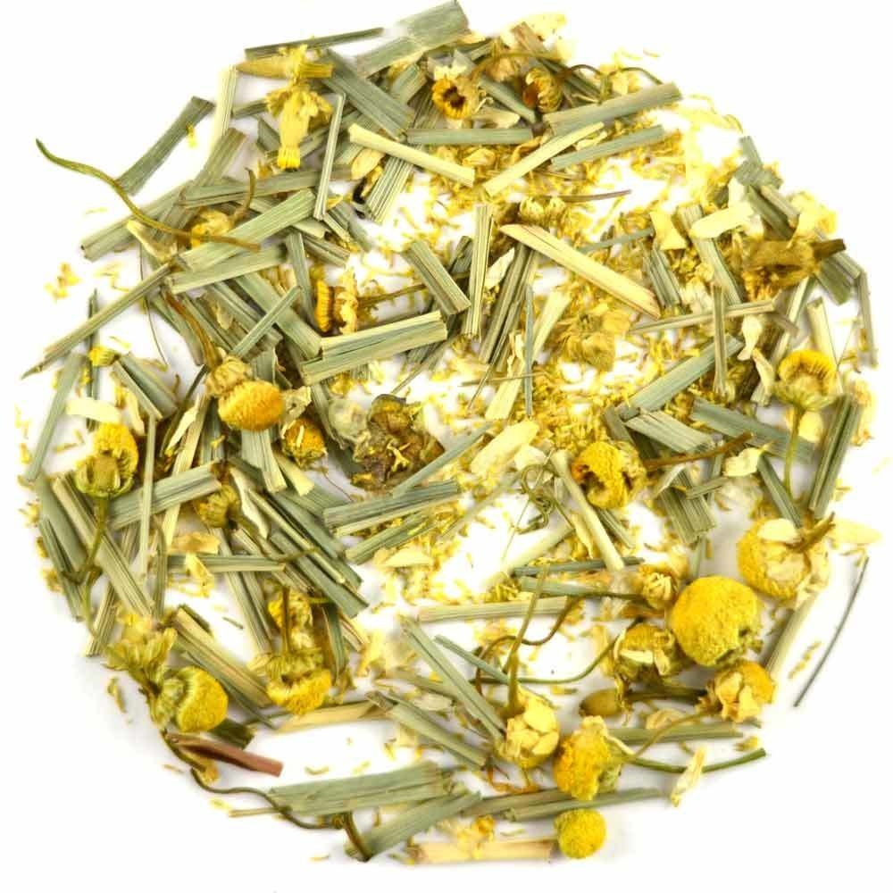chamomile tea lemongrass tea for resting wellness tea sleep