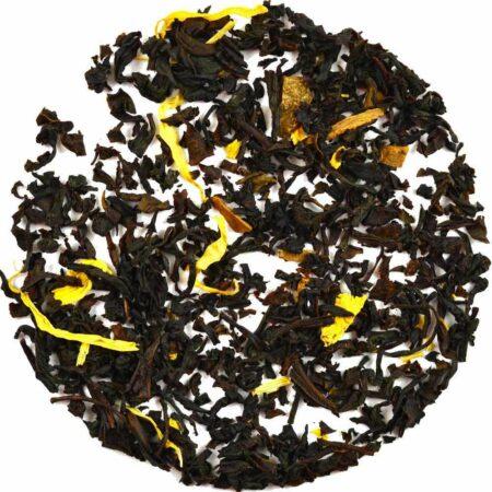 cinnamon bun tea black GROSCHE flavored loose leaf