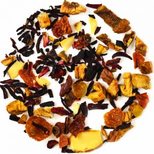 fruit tea with nuts almond tea nut tea