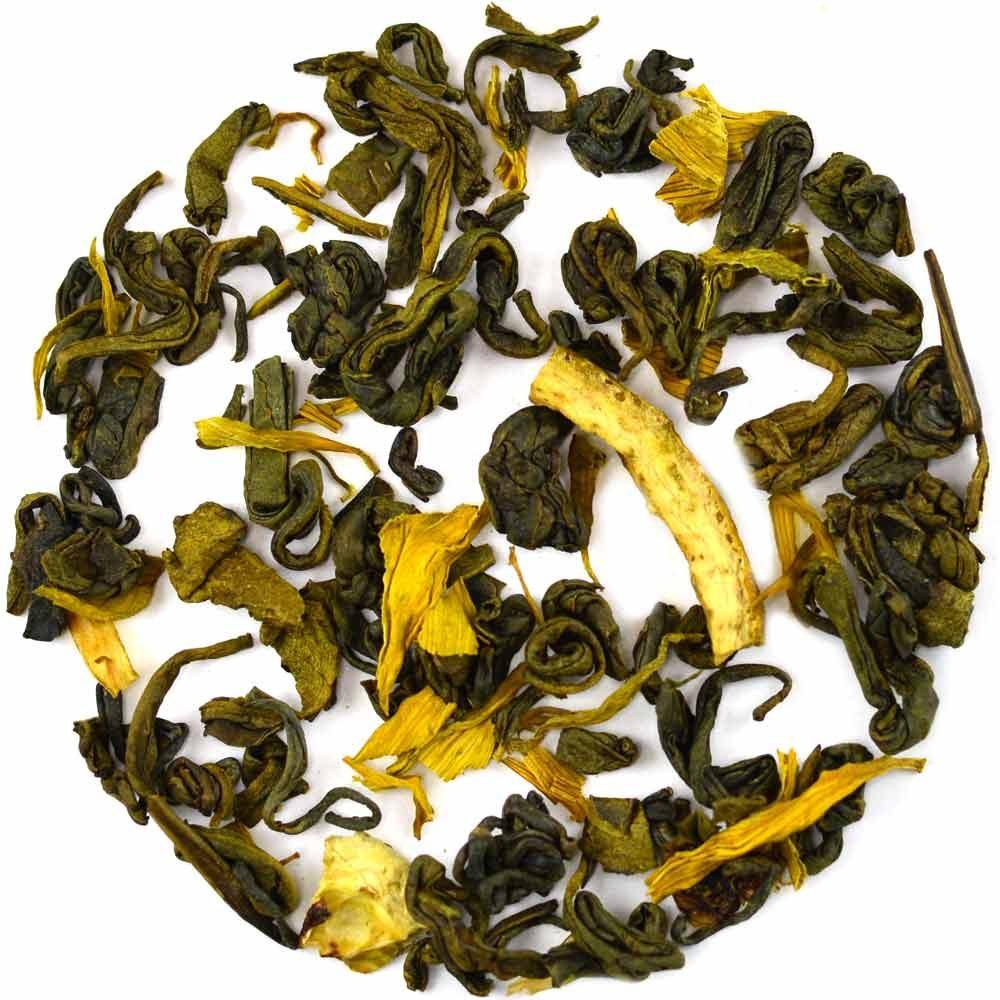 lemon green tea lemon sunshine GROSCHE