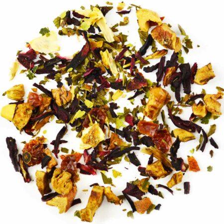 healthy herbal tea lime gelato GROSCHE