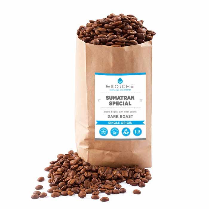 sumatra coffee beans grosche