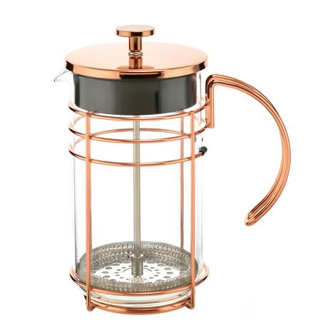 madrid rose gold french press empty coffee maker