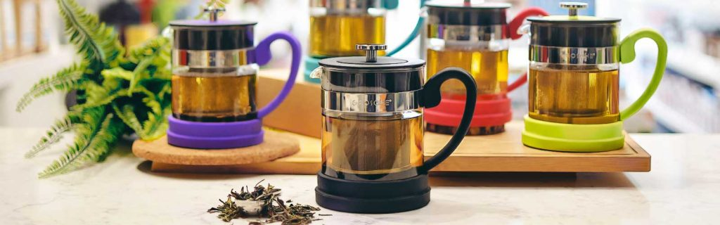 valencia grosche slider with all colours pesonal tea brewer black yellow pink purple blue