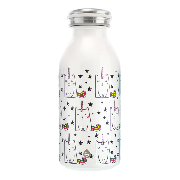 best water bottle for kids water bottle for school kids water bottle Unicorn-cat- GROSCHE-BOP!-Stainless-steel-water-bottles-vacuum-double-walled kids insulated water bottle