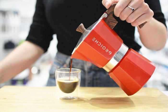 stovetop espresso maker italian coffee maker moka pot bialetti espresso pot grosche milano