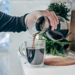 double walled glass mug, borosilicate durable glass cup, insulated glass mug, large mug for coffee or tea, grosche cyprus big cup