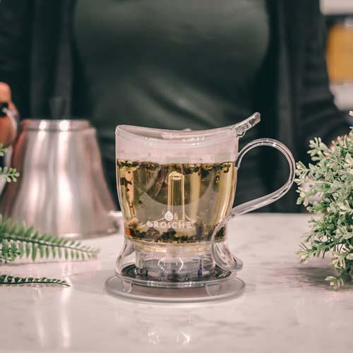 GROSCHE aberdeen easy tea steeper letting tea steep