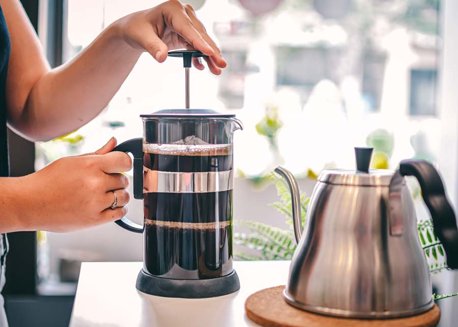 grosche black zurich french press