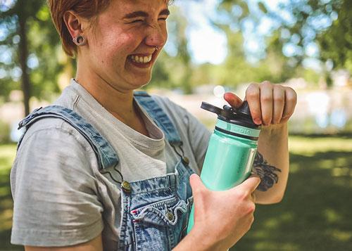 taylor team member oasis water bottle