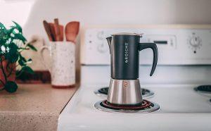 milano steel moka pot stovetop espresso maker stovetops