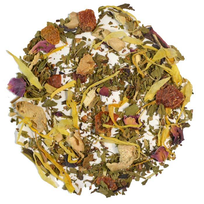 ayurvedic total body wellness tea for immunity boosting loose leaf tea