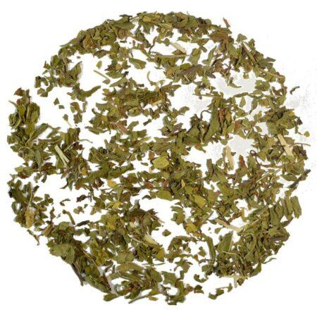 spearmint herbal loose leaf tea product photo