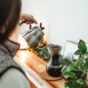 gooseneck kettle, pour over kettle, coffee kettle, kettle for pour over, GROSCHE marrakesh