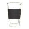 glassen double walled tumbler black