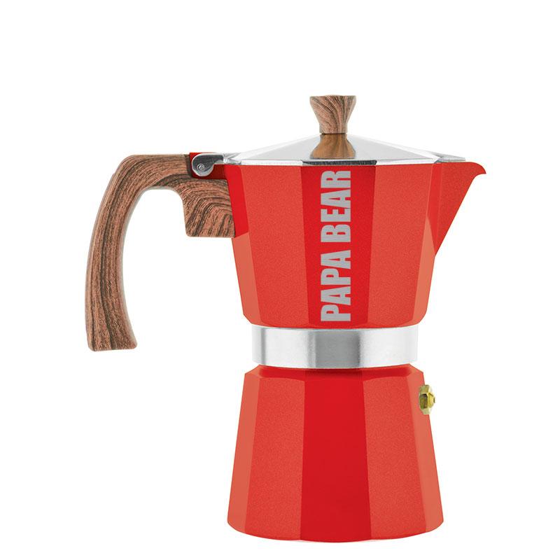 Papa Bear Custom Father's Day Gift MILANO Stovetop Espresso Maker