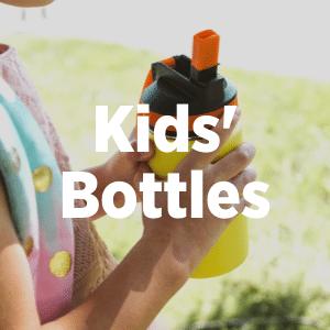 Back to school kids water bottles