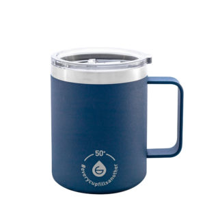 GROSCHE Everest insulated coffee mugs insulated travel mug with handle reusable mug stainless steel with lid