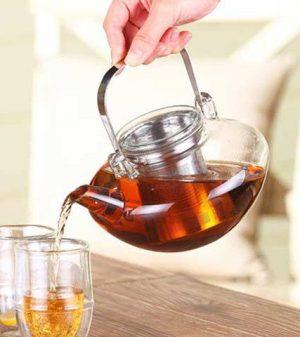 GROSCHE TUSCANY Tea Infuser Pot lifestyle