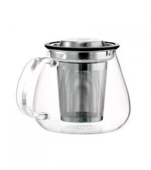 GROSCHE WATERLOO Personal Steeper Teapot side veiw empty