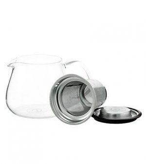 GROSCHE WATERLOO Personal Steeper Teapot infuser taken out