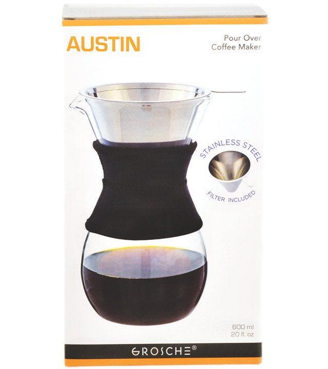 GROSCHE AUSTIN pour over coffee maker | Packagiing