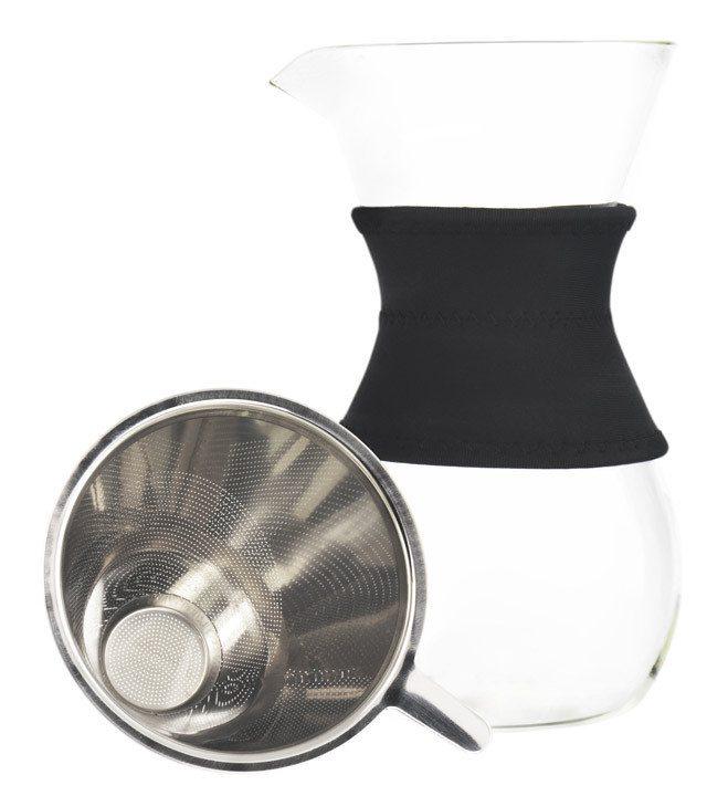 GROSCHE AUSTIN pour over coffee maker | Filter next to caraffe