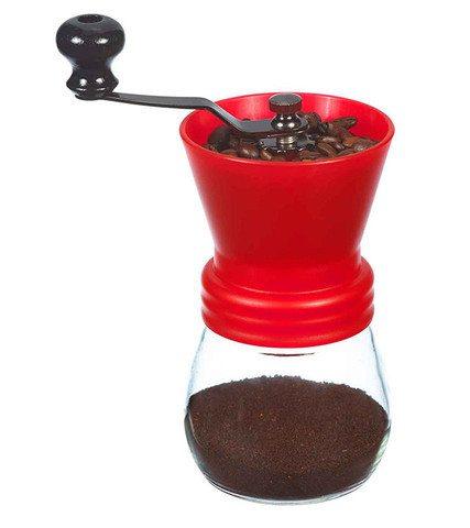 GROSCHE BREMEN manual Coffee Grinder Red ceramic burr