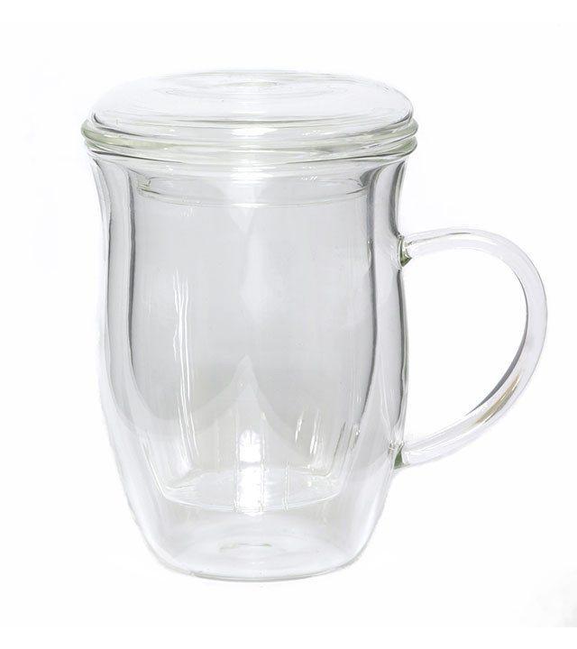 GROSCHE SURREY Tea Steeper Mug with Lid