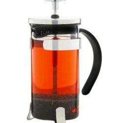 GROSCHE YORK Elegant Coffee and Tea Press | Side veiw with tea