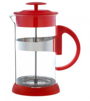 GROSCHE ZURICH Everyday Coffee Press | Red side view empty